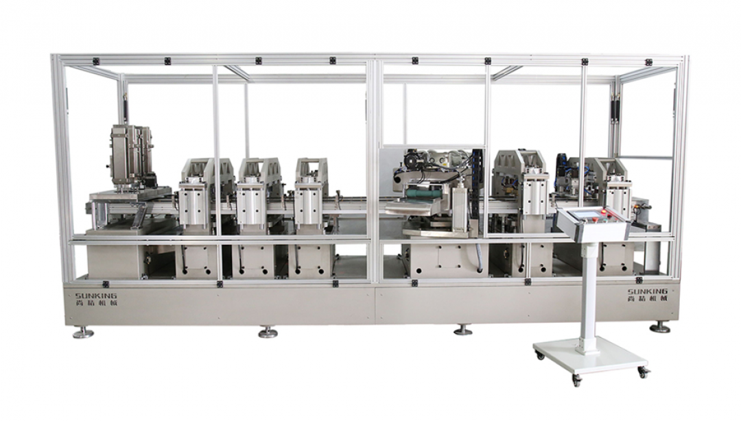 SKM-B series Peel-Off End Manufacturing Machine
