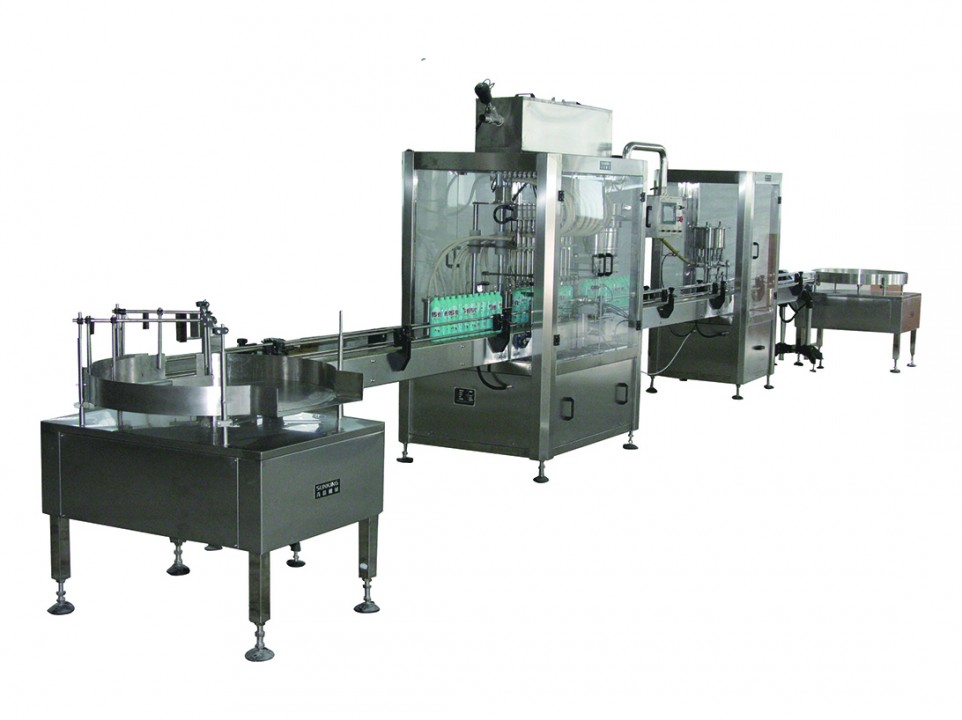 SKP automatic Sealing and Capping Line