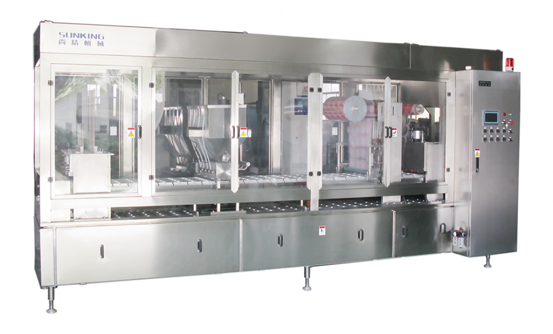 SKB Series Automatic Cup Fill and Seal Machine