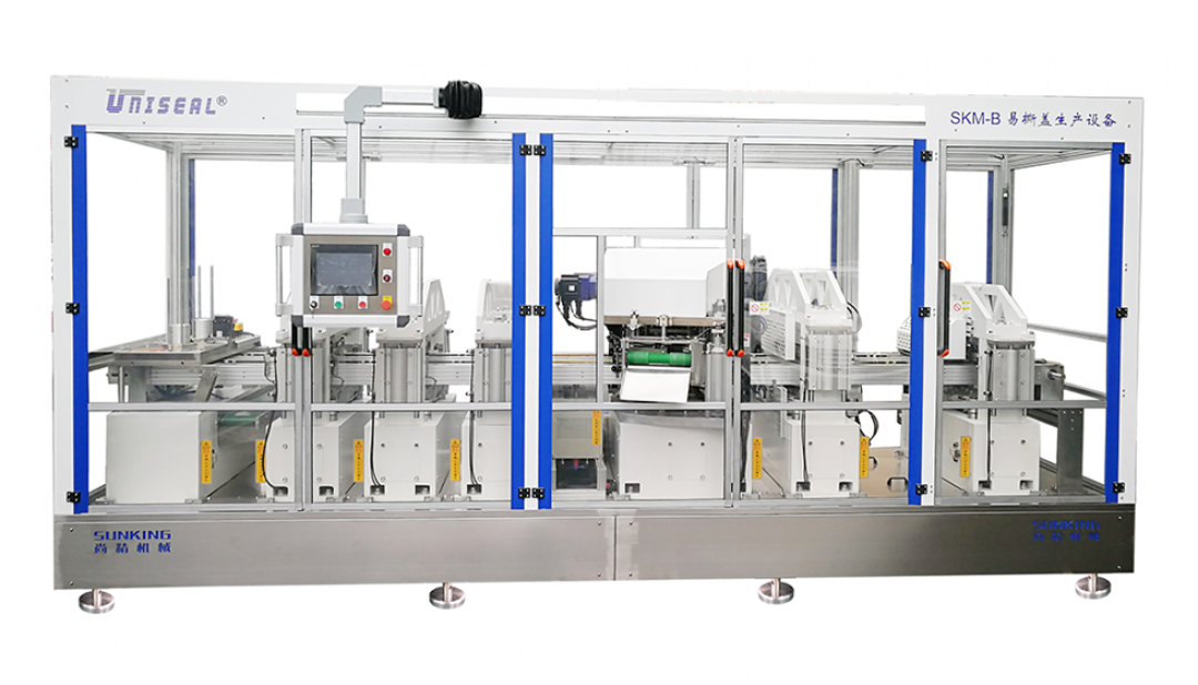 The Fifth Generation SKM-B Series ?Peel-Off End Manufacturing Machine