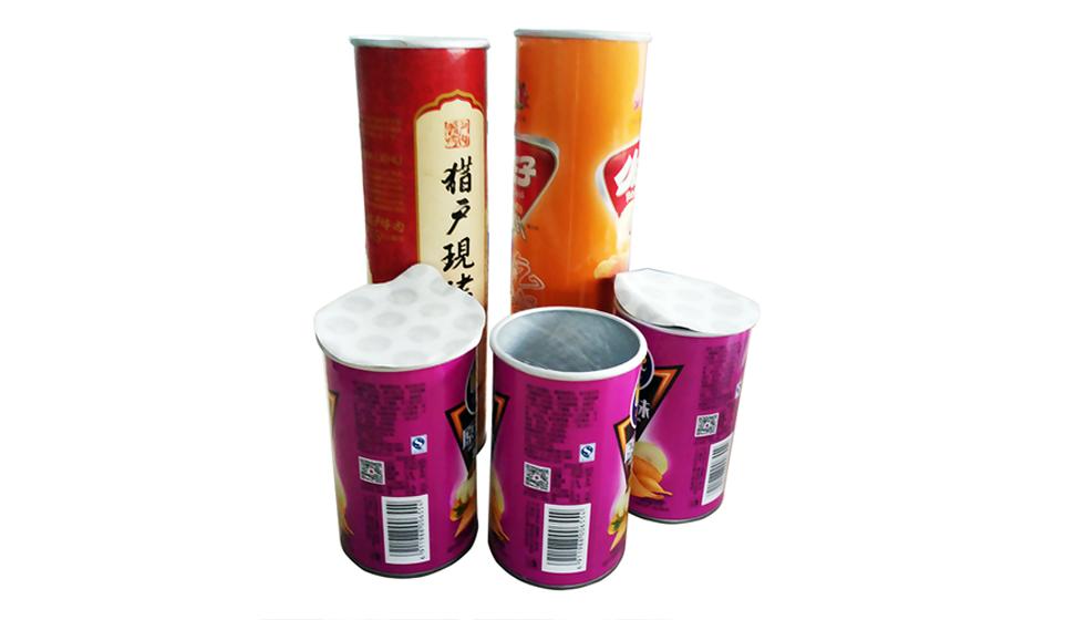 SKZT纸(塑)罐封口扣盖机